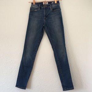 Frame 26 le high skinny jean de jeanne